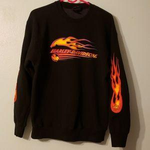 Vintage Harley Davidson Sweatshirt  Sz L (Unisex)
